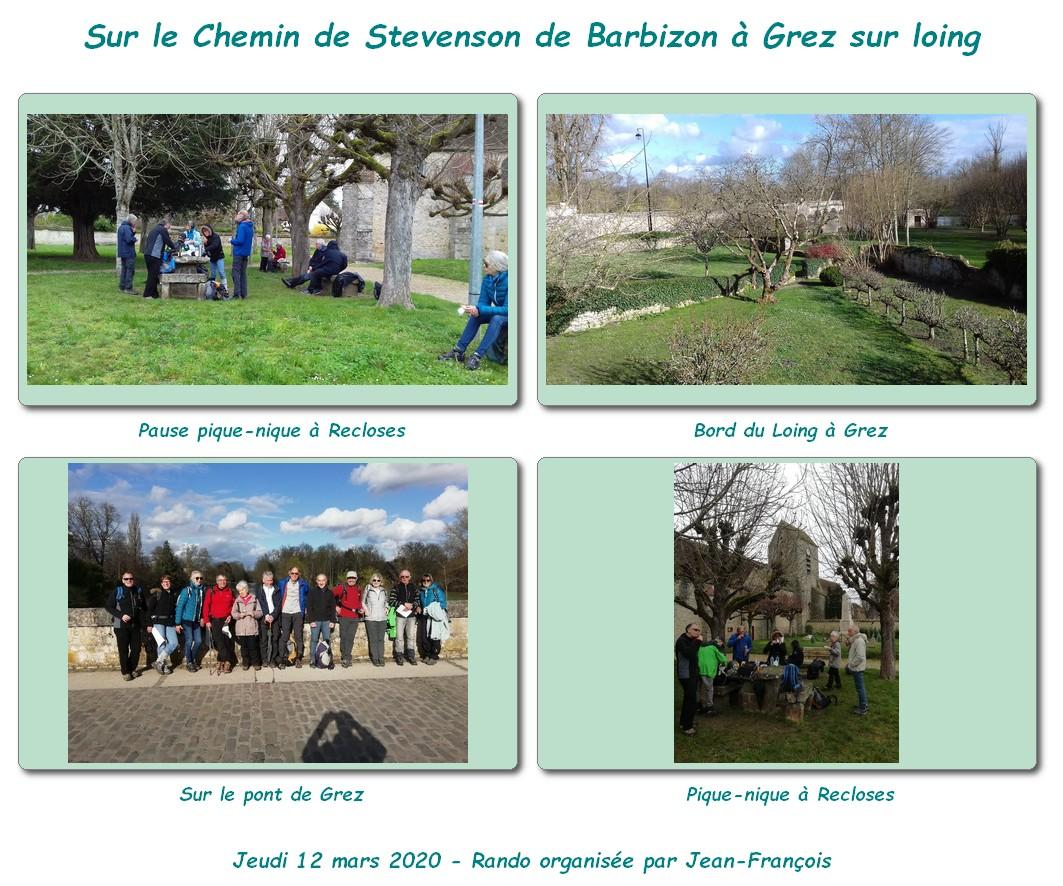 De Barbizon à Grez sur Loingsur le Chemin-Stevenson-12 mars 2020